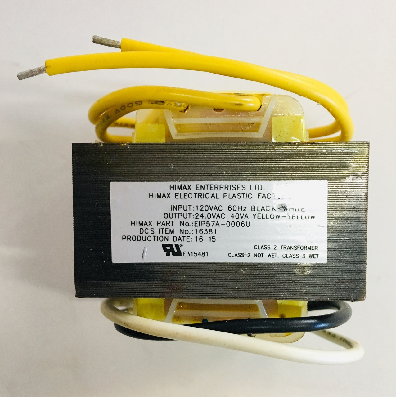 Dcs 36e 48e Transformer 24 Vac 211775
