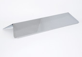 Fiesta Blue Ember Stainless Heat Shield