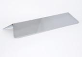 Fiesta Blue Ember Stainless Heat Shield