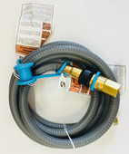"""Weber 1/2"""" Natural Gas Hose Kit With Quick Disconnect"""