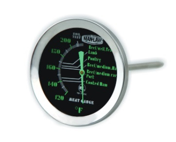 Meat Gauge with Glow In The Dark Dial