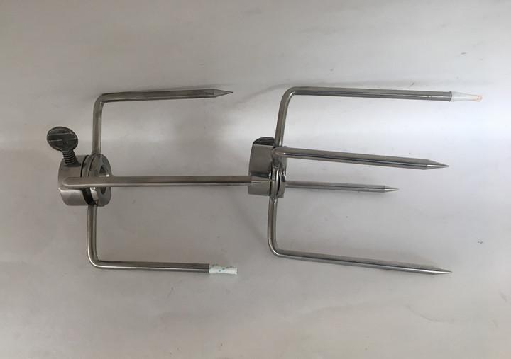 290-0096 Alfresco Rotisserie Fork Set