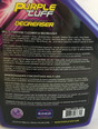 Purple Tuff Degreaser Label