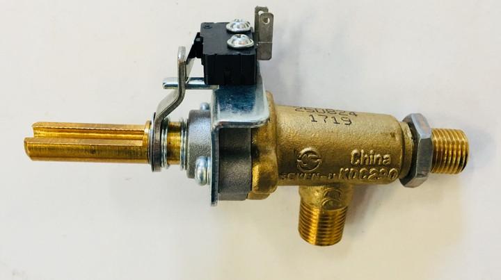DCS BGC Gas Valve Blue - Side Burner - 250824P
