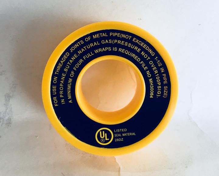 Yellow Gas Teflon Tape - 461900