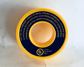Yellow Gas Pipe Sealing Tape - 461900
