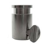 "Stainless Steel Rotisserie Spit Rod Bushing - 1/2"" Hexagon, 3/8"" Square"