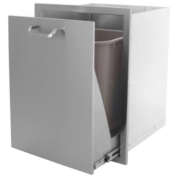 Roll-out Single Trash Bin