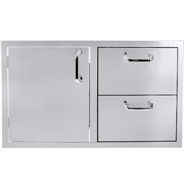 """36"""" Single Door - 2 Drawer Combo"""