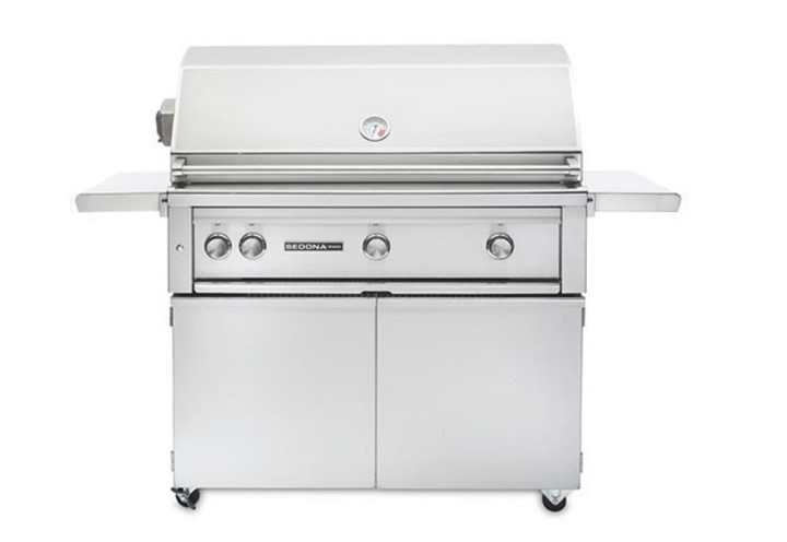 """Sedona by Lynx L700 42"""" Grill on Cart with Rotisserie"""