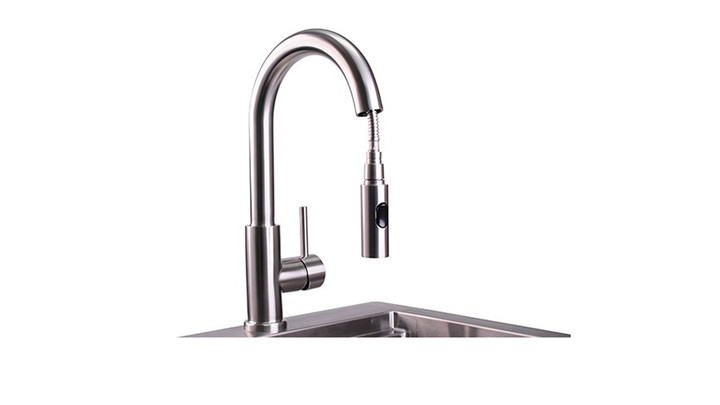 Lynx Professional Gooseneck Pull Down Faucet