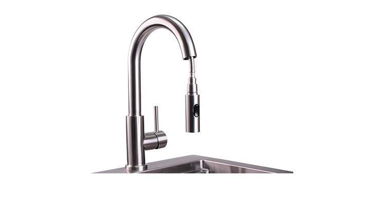 Lynx Professional Gooseneck Pull Down Faucet