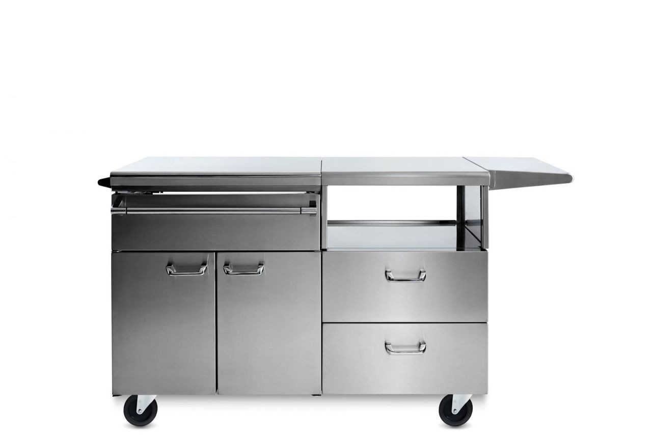 Lynx Serve and Prep Countertop on Mobile Kitchen Cart - LSERVE-M