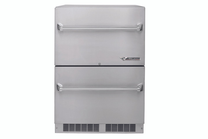 Twin Eagles Two Drawer Outdoor Refrigerator