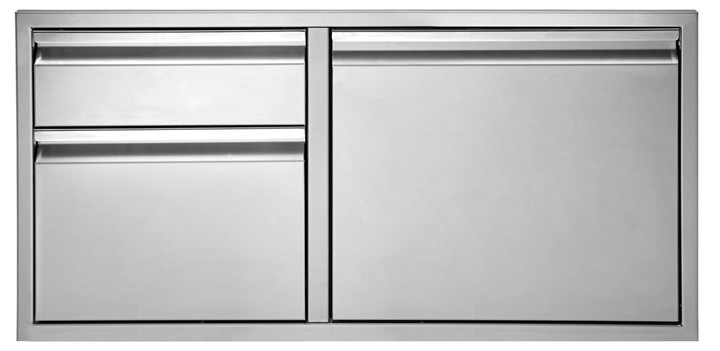 """Twin Eagles 36"""" Door/Two Drawer Combo"""