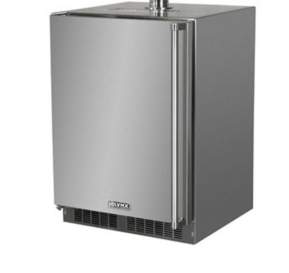 """Lynx 24"""" Outdoor Refrigerator w/ Keg Option - LM24BF"""