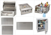 Alfresco AGBQ30 Built-in Appliance Package