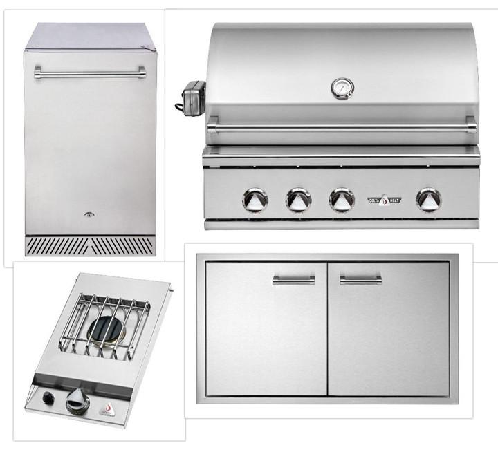 Delta Heat DHBQ-32R Appliance Package