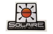 Solaire Large Logo for front Control Panel