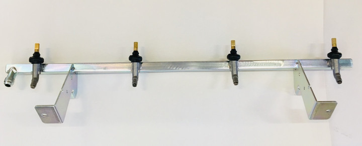 Weber Natural Gas Genesis II E-410 Manifold Assembly