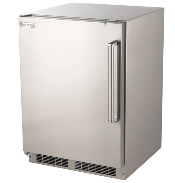 Fire Magic 5.1 cf Stainless Refrigerator - 3589-D