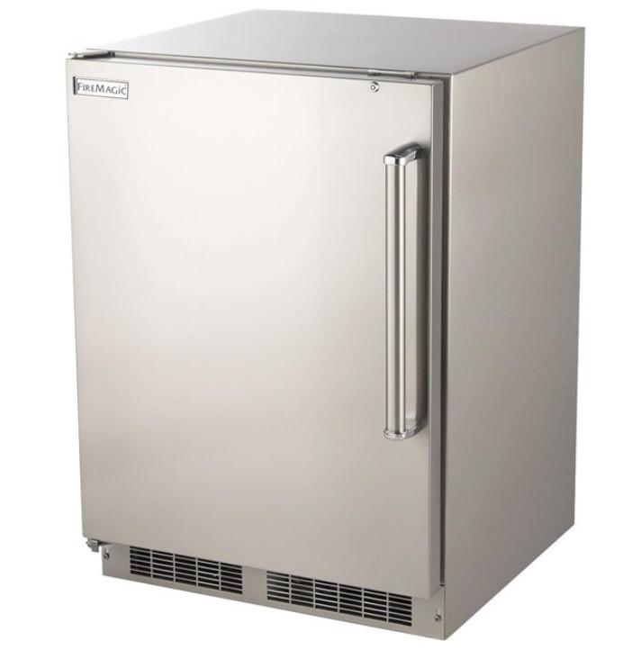 Fire Magic 5.1 cf Stainless Refrigerator - 3589-D