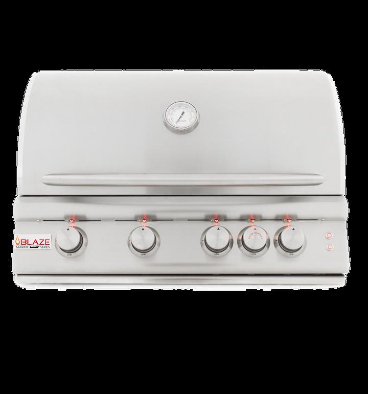 Blaze 4 Burner Marine Grade Grill