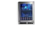 """Lynx 24"""" Outdoor Refrigerator with Glass Door - LN24REFG"""