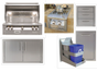 Alfresco ALXE-36 Built-in Appliance Package