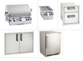 FireMagic Echelon E660i Built-in 5 piece Appliance Package