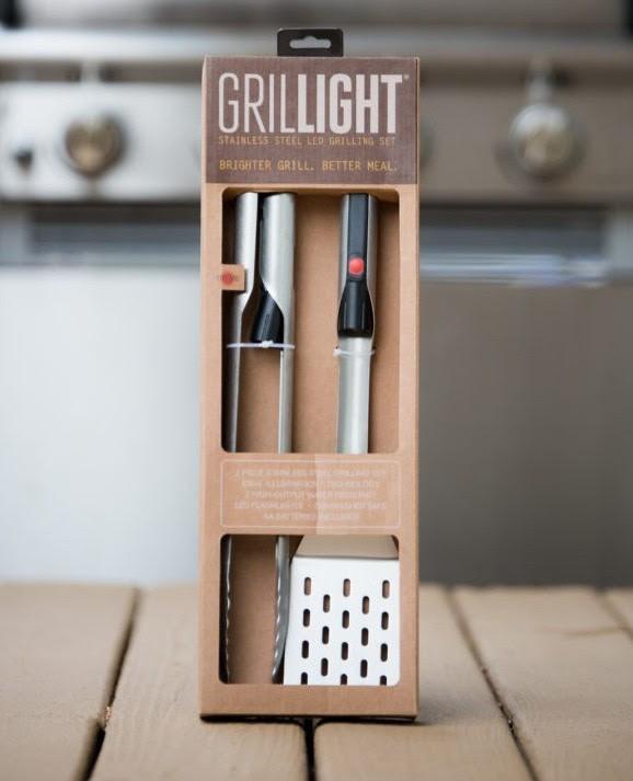 GrilLight Premium 2-Piece Grilling Tool Set