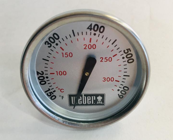 Weber Thermometer Q, Spirit, Genesis, Charcoal - 60540