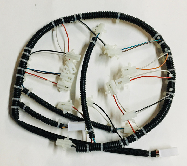 FireMagic Wire Harness - Aurora w/ Lights & Hot Surface Ignition