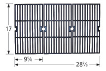 Charbroil, Nexgrill Cast Iron Cooking Grate - 61183