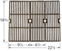 Charbroil Cast Iron Cooking Grate - 60063