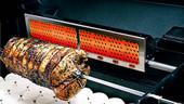 MHP Infra-Roast Rear Rotisserie Burner