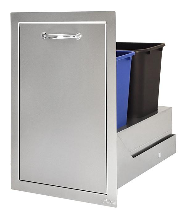 Artisan Double Trash Center Drawer - ARTP-TC2 -20SC