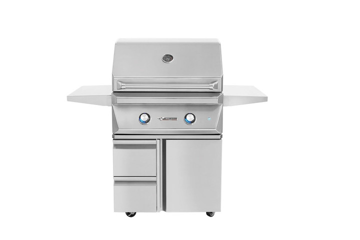 """Twin Eagles 30"""" Grill on Base with 2 Drawers, 1 Door"""