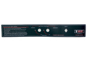 MHP WNK Control Panel Label (Old Model) - GGCPLBLE