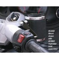 Can-Am Spyder RT Cup Holder Mount and Leather Cup Holder