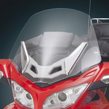 Clear Wide Windshield for Can-Am Spyder RT - Installed