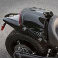 Spyder F3 Mono Seat Cowl Stripes Decal Kit - Satin Silver