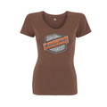 Can-Am Spyder Jane T-Shirt Brown