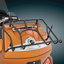 Can-Am Spyder RT Tour Trunk Rack Black - Installed