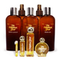 8 Ounce Bath & Body Collection: Body Lotion, Dry Body Oil, Aftershave Balm, Body Spritz, Bath Gel  -  Perfume Oil Sizes: 14-Day Sample, 1/4 Ounce, 1 Ounce, 1/2 Ounce