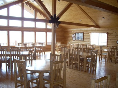 Mountain Ranch Smokehouse Restaurant stop by for a burger, fries, homemade pie and beef jerky.