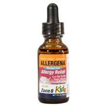 Alcohol Free Allergena Zone 8 for Kids. 1oz. Bottle