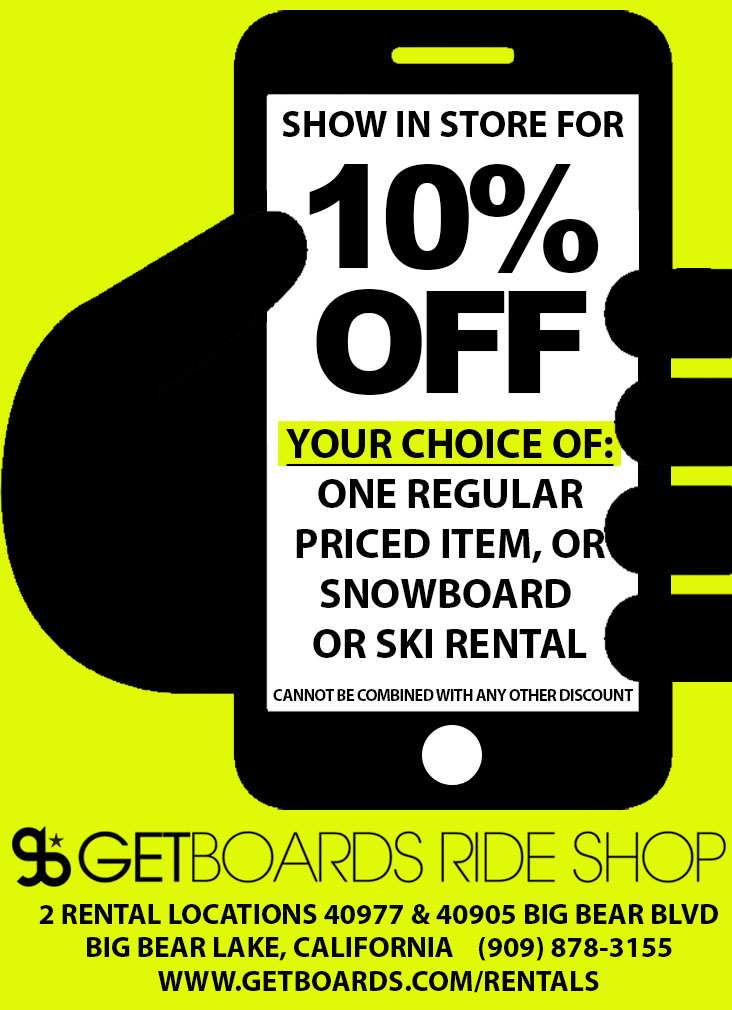 Big bear snow play discount coupons