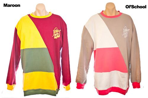 Maroon and Ol School Colorways