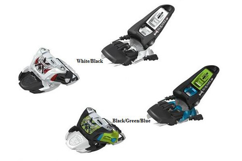 two color options to choose from.  White/Black or Black/Green/Blue